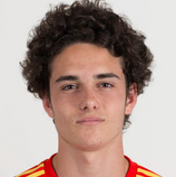 Picture of the 1.77 m (5 ft 10 in) tall Spanish centre forward of Atlético Madrid