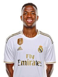 Picture of the 1.76 m (5 ft 9 in) tall Brazilian left winger of Real Madrid