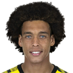 Picture of the 1.86 m (6 ft 1 in) tall Belgian midfielder of Borussia Dortmund