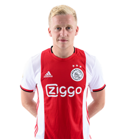 Picture of the 1.84 m (6 ft 0.25 in) tall Dutch midfielder of Manchester United