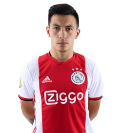 Picture of the 1.78 m (5 ft 10 in) tall Argentinian centre back of Ajax Amsterdam