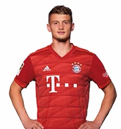 Picture of the 1.81 m (5 ft 11 in) tall French central midfielder of Bayern Munich