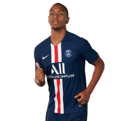 Picture of the 1.86 m (6 ft 1 in) tall French/Senegalese centre-back of Paris Saint-Germain