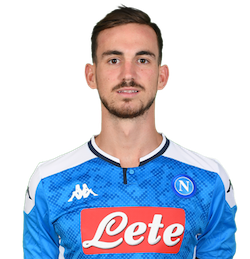 Picture of the 1.89 m (6 ft 2 in) tall Spanish midfielder of S.S.C. Napoli