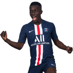 Picture of the 1.74 m (5 ft 9 in) tall Senegalese defensive midfielder of Paris Saint-Germain