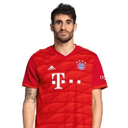 Picture of the 1.92 m (6 ft 4 in) tall Spanish defensive midfielder of Bayern Munich