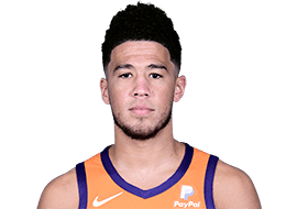 Picture of the 6 ft 5 in (1.96 m) tall American shooting guard of Phoenix Suns