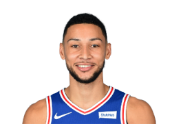 Picture of the 6 ft 10 in (2.08 m) tall Australian / American point guard of Philadelphia 76ers