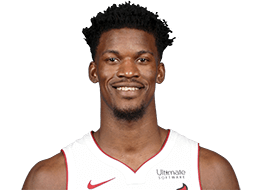 Picture of the 6 ft 7 in (2.01 m) tall American shooting guard/small forward of Miami Heat