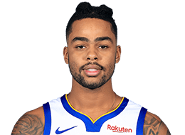 Picture of the 6 ft 4 in (1.93 m) tall American shooting guard of Golden State Warriors