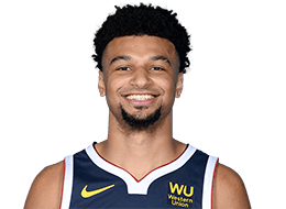 Picture of the 6 ft 4 in (1.93 m) tall Canadian point guard / shooting guard of Denver Nuggets