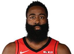 Picture of the 6 ft 5 in (1.96 m) tall American shooting guard/point guard of Houston Rockets