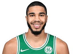 Picture of the ft 8 in (2.03 m) tall American small Forward of Boston Celtics