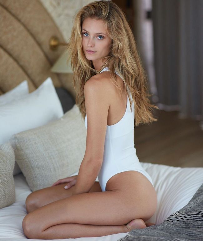 Picture of his Girlfriend, who goes by the name Kate Bock.