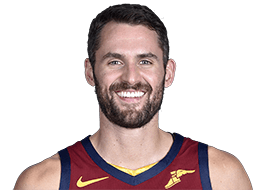 Picture of the 6 ft 8 in (2.03 m) tall American power forward of Cleveland Cavaliers