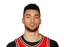 Picture of the 6 ft 5 in (1.96 m) tall American shooting guard/small forward of Chicago Bulls