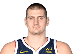 Picture of the 6 ft 11 in (2.11 m) tall Serbian center of Denver Nuggets