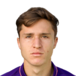 Picture of the 1.75 m (5 ft 9 in) tall Italian winger of ACF Fiorentina