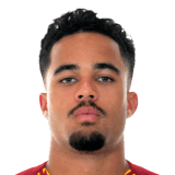 Picture of the 1.71 m (5 ft 7 in) tall Dutch winger of A.S. Roma