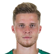 Picture of the 1.89 m (6 ft 2 in) tall Swiss  centre back of Borussia Mönchengladbach