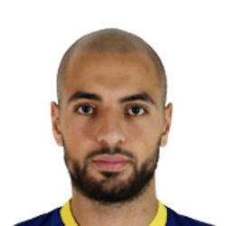 Picture of the 1.83 m (6 ft 0 in) tall Moroccan  midfielder of Hellas Verona