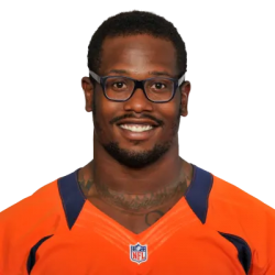 Picture of the 6 ft 3 in (1.91 m) tall American outside linebacker of Denver Broncos