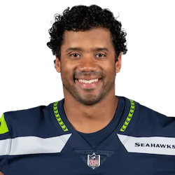 Picture of the 5 ft 11 in (1.80 m) tall American quarterback of Seattle Seahawks