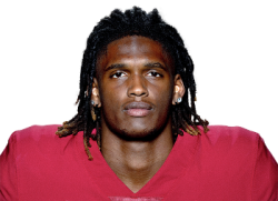 Picture of the 6 ft 2 in (1.88 m) tall American wide receiver of Dallas Cowboys