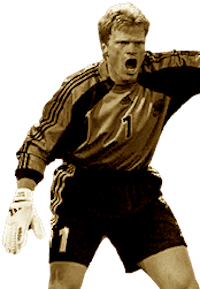 Picture of the 1.88 m (6 ft 2 in) tall German goalkeeper of