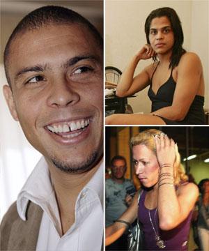 ronaldo lima cheat wife girlfriend