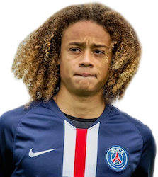 Picture of the 1.68 m (5 ft 6 in) tall Dutch/Spanish central midfielder of Paris Saint-Germain