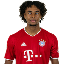 Picture of the 1.93 m (6 ft 4 in) tall Dutch/Nigerian striker of Bayern Munich