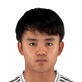 Picture of the 1.73 m (5 ft 8 in) tall Japanese right winger of Villareal