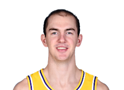 Picture of the 6 ft 5 in (1.96 m) tall American point guard of Los Angeles Lakers