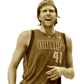 Picture of the 2.13 m (7 ft 0 in) tall German power forward / center of