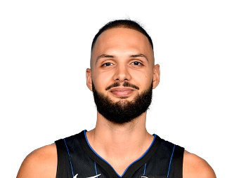 Picture of the 6 ft 7 in (2.01 m) tall French / Algerian shooting guard / small forward of Orlando Magic