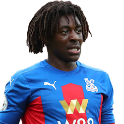 Picture of the 1.73 m (5 ft 8 in) tall English attacking midfielder of Crystal Palace