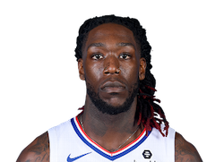 Picture of the 6 ft 7 in (2.01 m) tall American center / power forward of Los Angeles Clippers