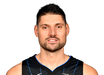 Picture of the 6 ft 11 in (2.11 m) tall Montenegrin center of Orlando Magic