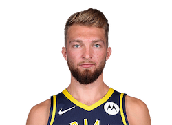 Picture of the 6 ft 11 in (2.11 m) tall Lithuanian / American center / power forward of Indiana Pacers