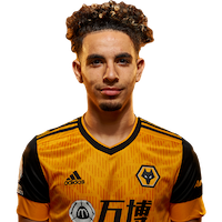 Picture of the 1.79 m (5 ft 10 in) tall French left back of Wolverhampton Wanderers