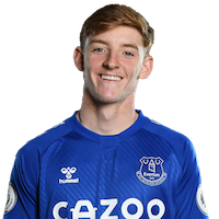 Picture of the 1.82 m (6 ft 0 in) tall English left winger of Everton