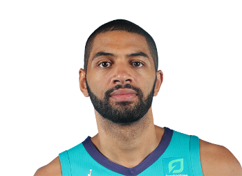 Picture of the 6 ft 9 in (2.06 m) tall French small forward / shooting guard of Charlotte Hornets