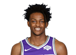 Picture of the 6 ft 3 in (1.90 m) tall American point guard of Sacramento Kings