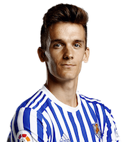 Picture of the 1.86 m (6 ft 1 in) tall Spanish centre back of Leeds United