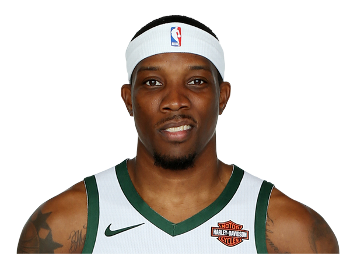 Picture of the 6 ft 1 in (1.85 m) tall American point guard of Milwaukee Bucks