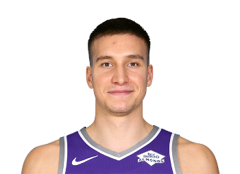 Picture of the 6 ft 6 in (1.98 m) tall Serbian shooting guard / small forward of Atlanta Hawks