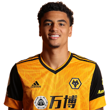 Picture of the 1.80 m (5 ft 11 in) tall Dutch right back of Wolverhampton Wanderers