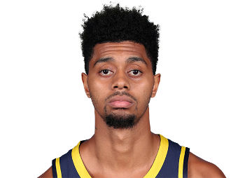 Picture of the 6 ft 5 in (1.96 m) tall American shooting guard / small forward of Indiana Pacers