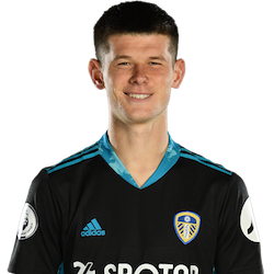 Picture of the 1.97 m (6 ft 6 in) tall French Goalkeeper of Leeds United